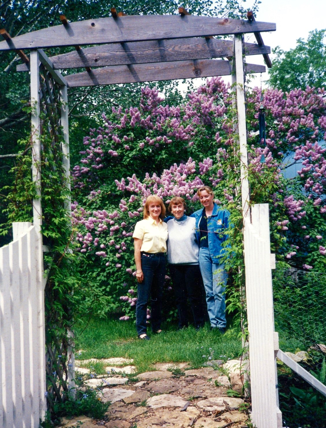 Mom Pat and Michele