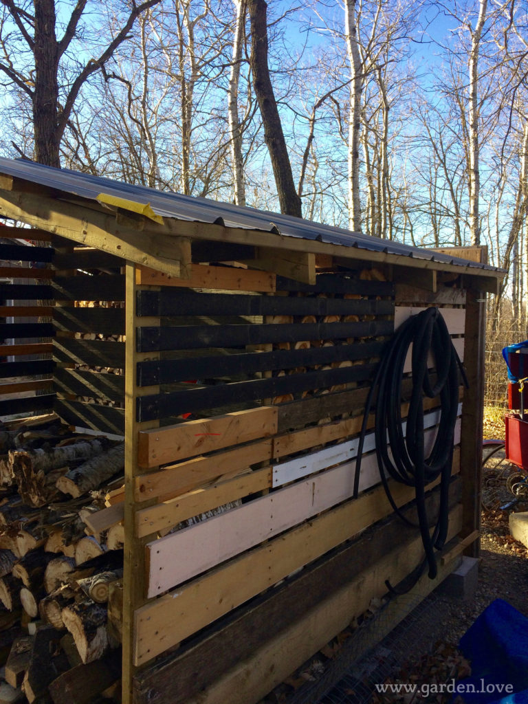 woodshed and storage