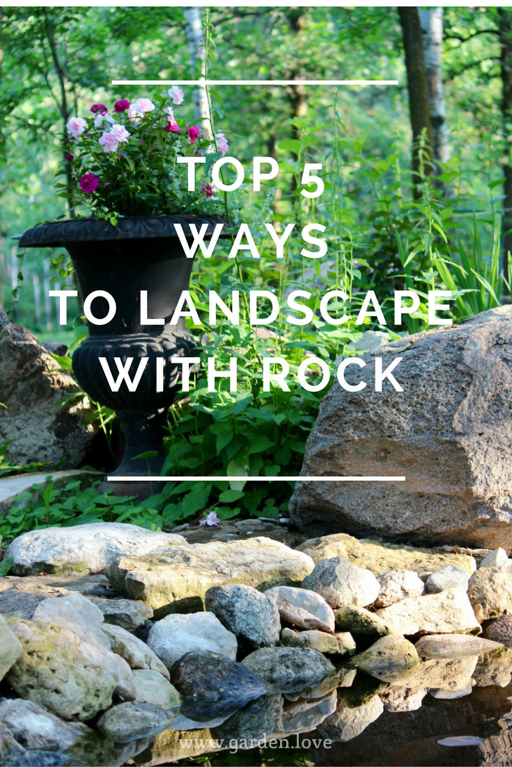 Top 5 ways to landscape using rock