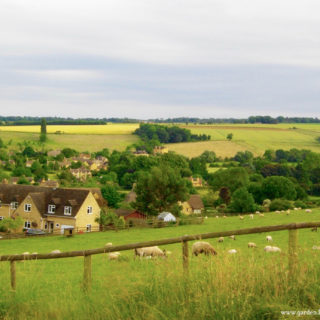 Englands green and pleasant land