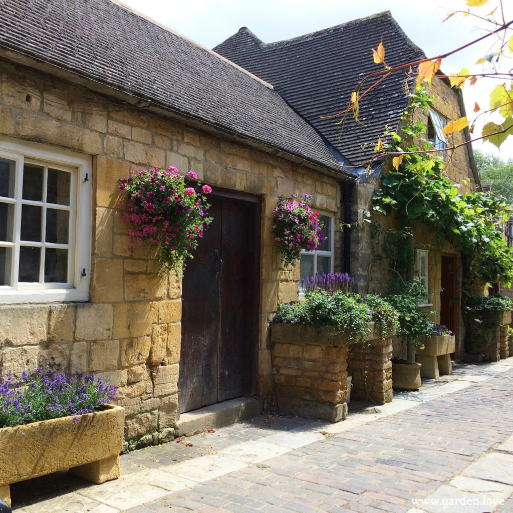 Stone troughs in Chipping Campden